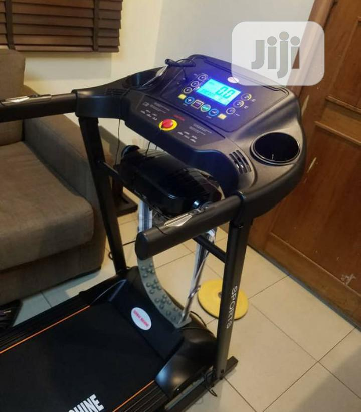 German Machine Treadmill With Massager,Earobic and Mp3