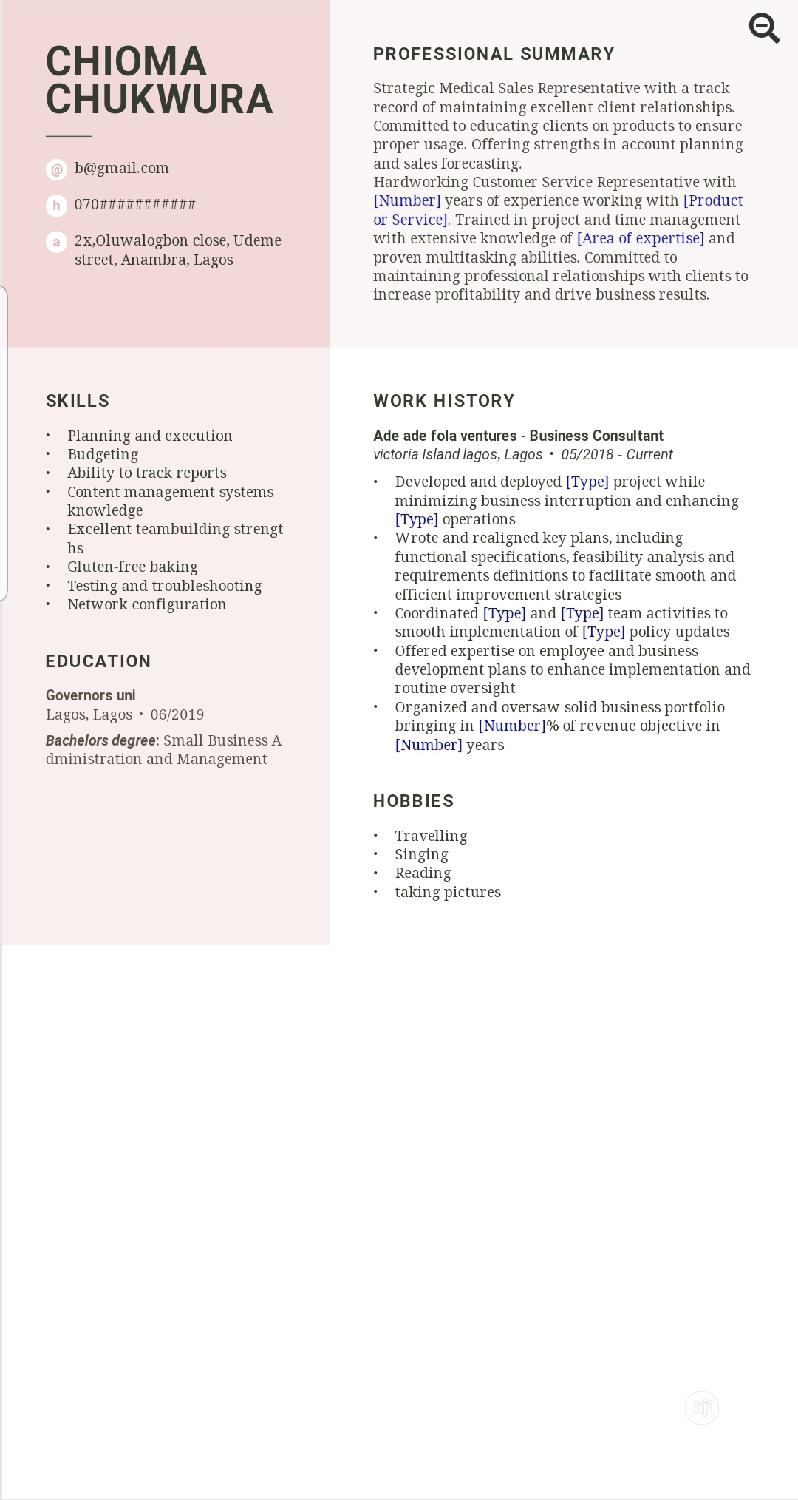 Archive: CV Writing For Fresh Graduate (Less Than 3years Work Experience)