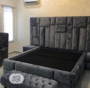 Executive 6x6 Hdf Bed With Ottaman   Furniture for sale in Lagos State, Ajah