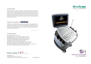 Sonoscape S11 Color Doppler Ultrasound Machine With 2 Probes | Medical Supplies & Equipment for sale in Lagos State, Ikeja