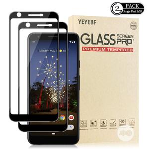 Full Glue Preemium Tempered Glass Protector for Pixel 3axl   Accessories for Mobile Phones & Tablets for sale in Lagos State, Ikeja