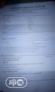 Hotel Porter   Hotel CVs for sale in Lagos State, Ikoyi