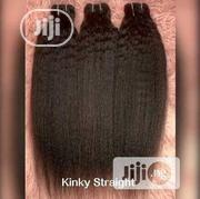 18 Inches Kinky Straight 3 Bundles +CLOSURE | Hair Beauty for sale in Lagos State, Magodo