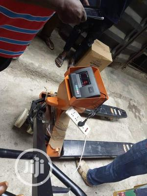 3tons Pallet Trucks Digital Weighing Scale A12e | Store Equipment for sale in Lagos State, Amuwo-Odofin
