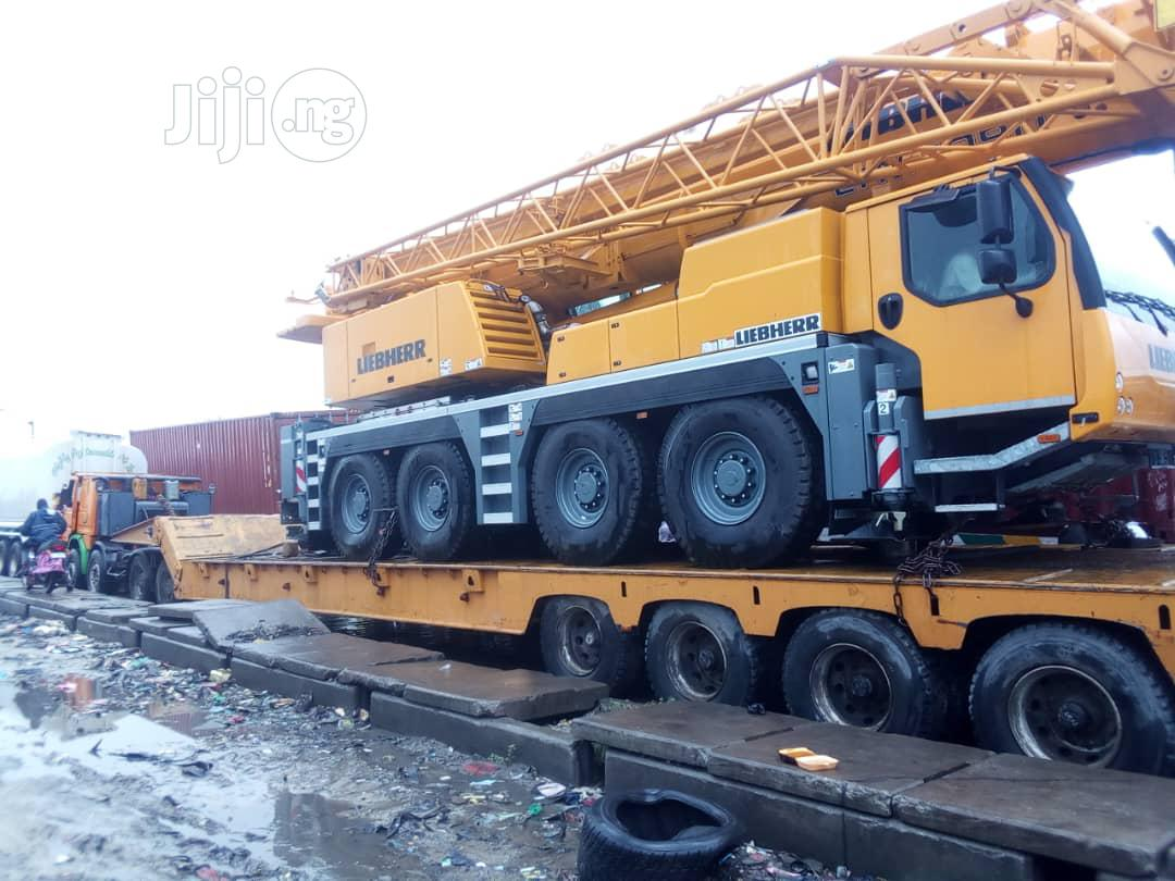 Plant Equipment, Crane and Low Bed for Rent/Lease. | Logistics Services for sale in Amuwo-Odofin, Lagos State, Nigeria