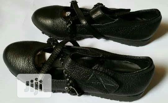Durable Black School Shoe, Sizes 31 and 36