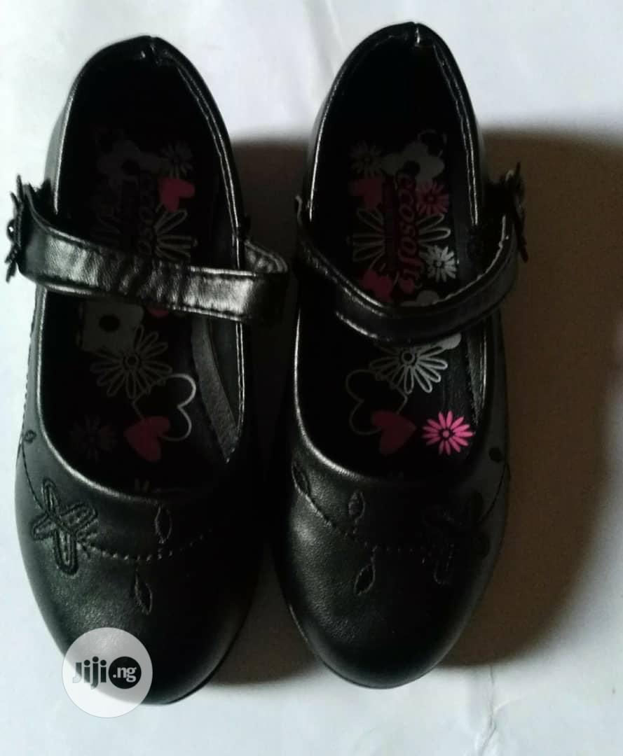 Black School Shoes Sizes 26 to 35