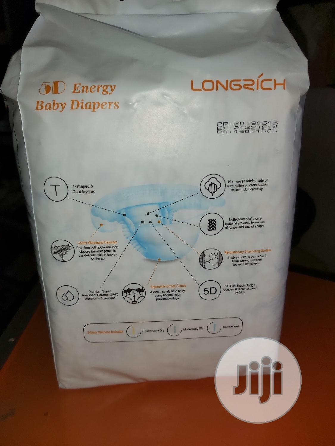 Longrich 5D Energy Baby Diaper | Baby & Child Care for sale in Wuye, Abuja (FCT) State, Nigeria