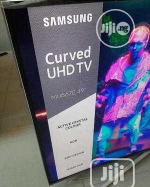 Samsung 49inches Smart Curve Uhd 4k Tv | TV & DVD Equipment for sale in Lagos State, Ojo