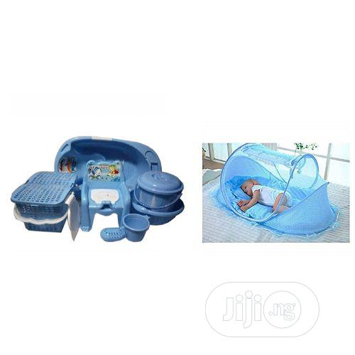 Archive: Baby Bath Set And Baby Bed With Net