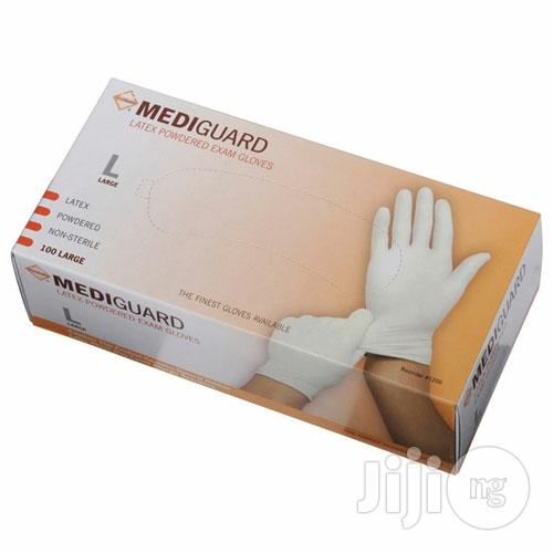 Latex Examination Gloves | Medical Equipment for sale in Amuwo-Odofin, Lagos State, Nigeria