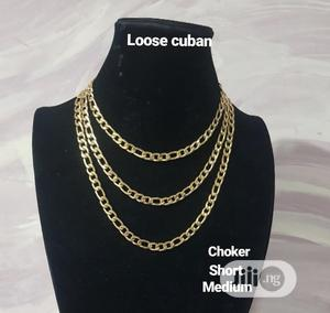 Raw Pure Stainless Steel Cuban Neckchain Available in All Length | Jewelry for sale in Lagos State, Lagos Island (Eko)