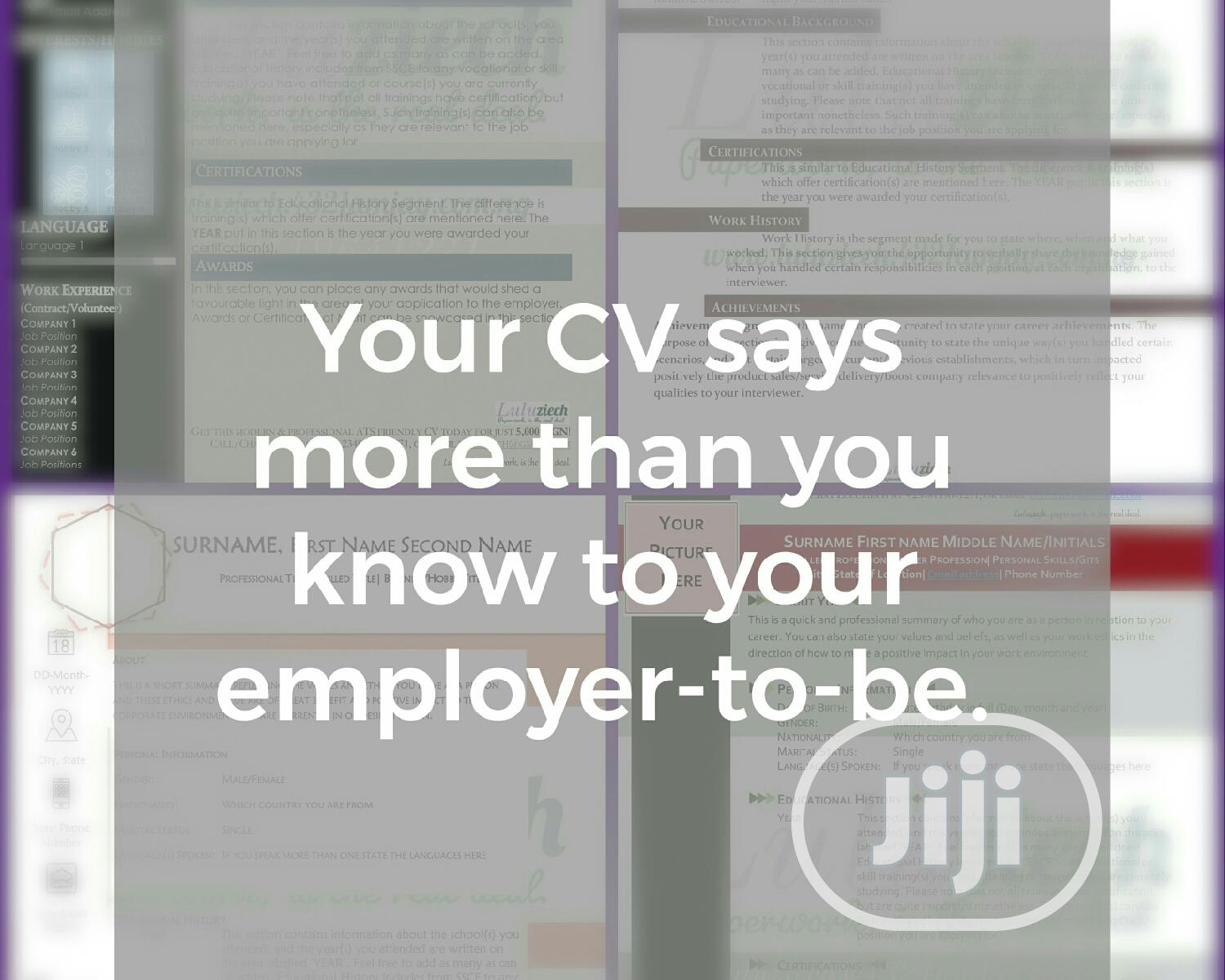 Archive: CV Redesign