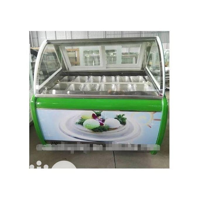 Archive: 8 Plates Ice Cream Display