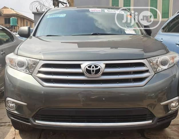 Toyota Highlander 2012 Limited Gray | Cars for sale in Ibadan, Oyo State, Nigeria