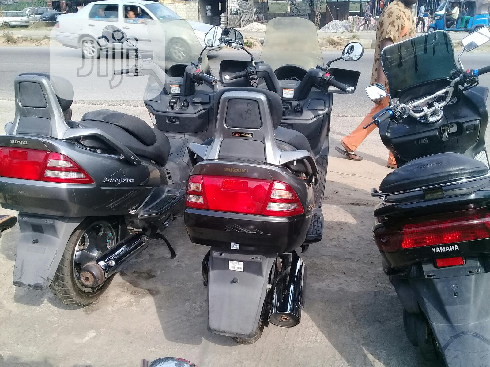 Suzuki 2003 Gray   Motorcycles & Scooters for sale in Okpe, Delta State, Nigeria