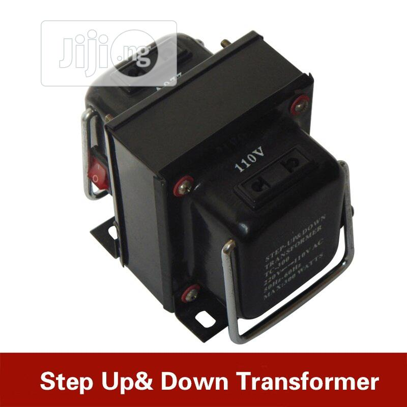 Step Down Transformer 220V + 110V - 300W | Accessories & Supplies for Electronics for sale in Ikeja, Lagos State, Nigeria