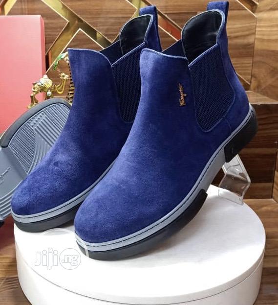 Designer Saferragamo Suede Shoe | Shoes for sale in Lagos Island (Eko), Lagos State, Nigeria