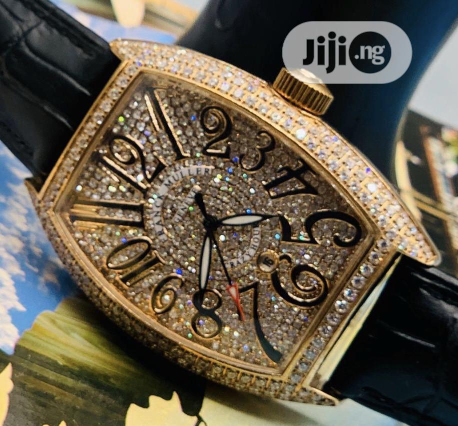 Original Leather Frank Muller Wrist Watch