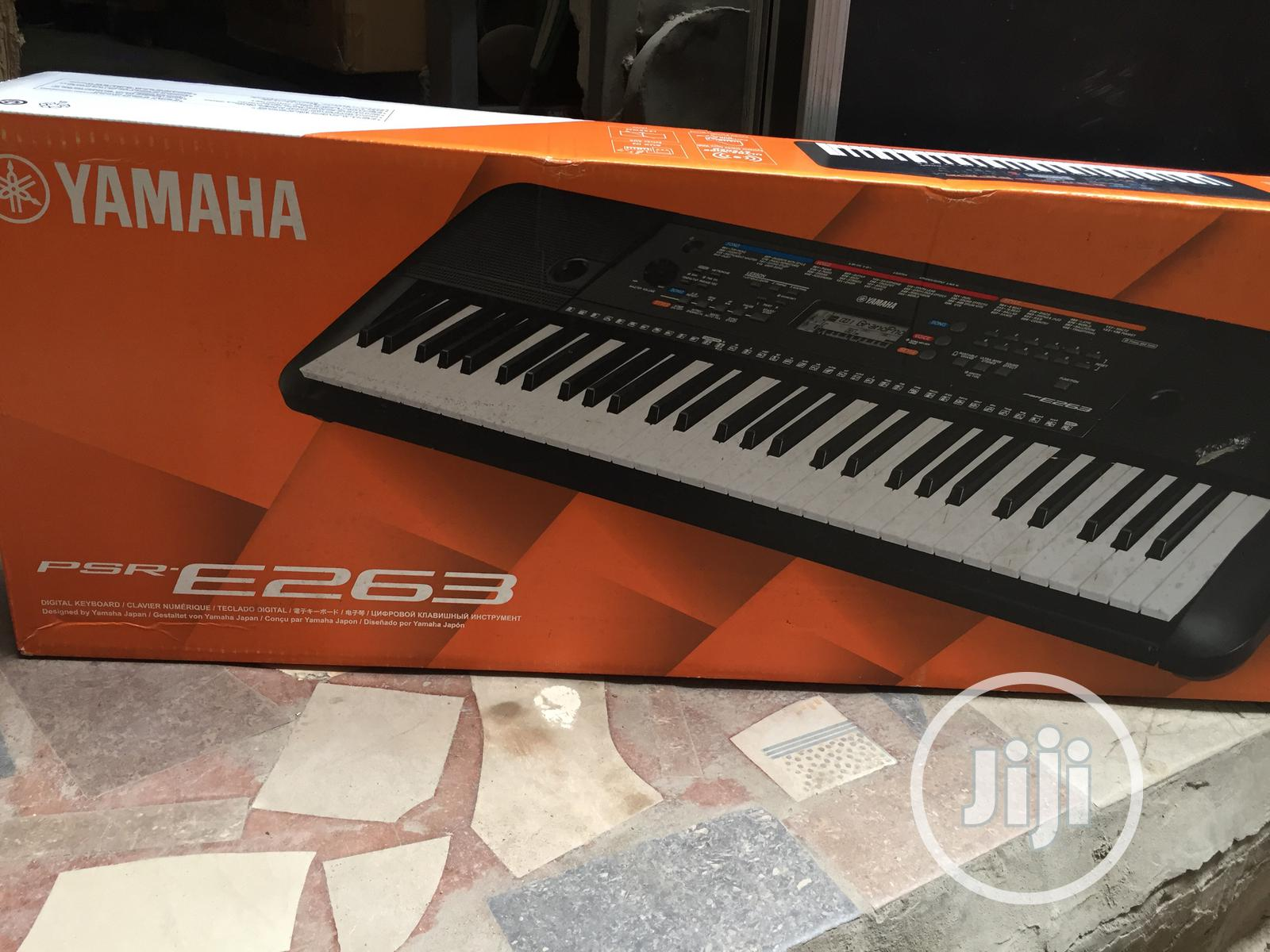 Yamaha PSR E263 Piano | Musical Instruments & Gear for sale in Ojo, Lagos State, Nigeria