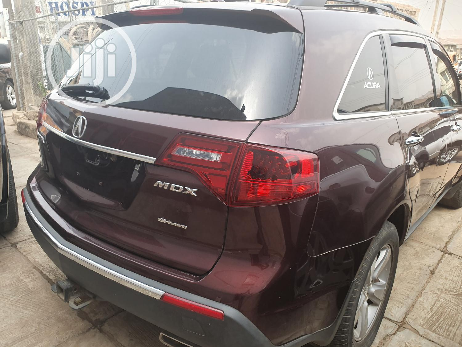 Archive: Acura MDX 2012 Red