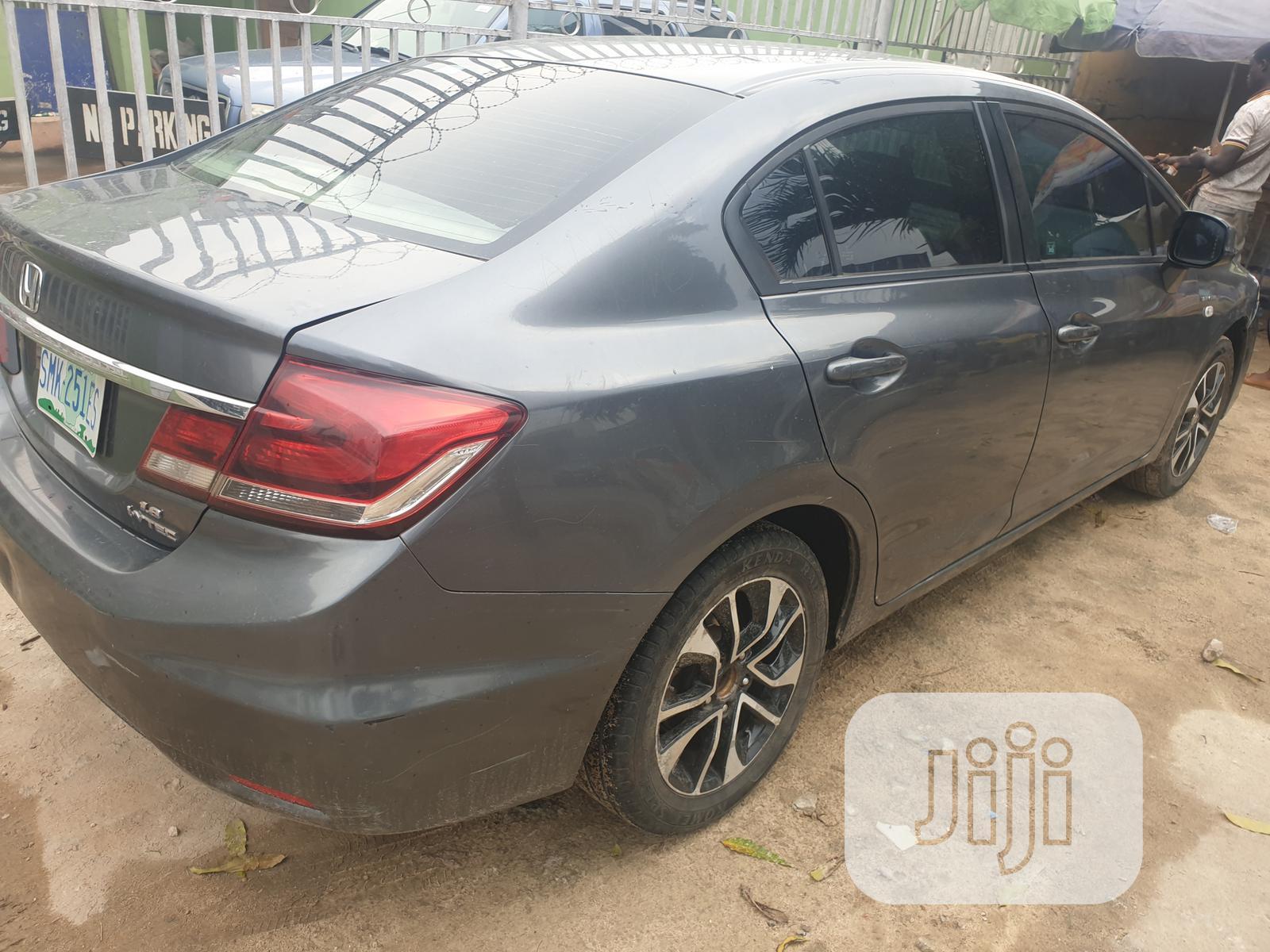 Honda Civic 2014 Gray in Lagos State - Cars, Folusho Ng ...