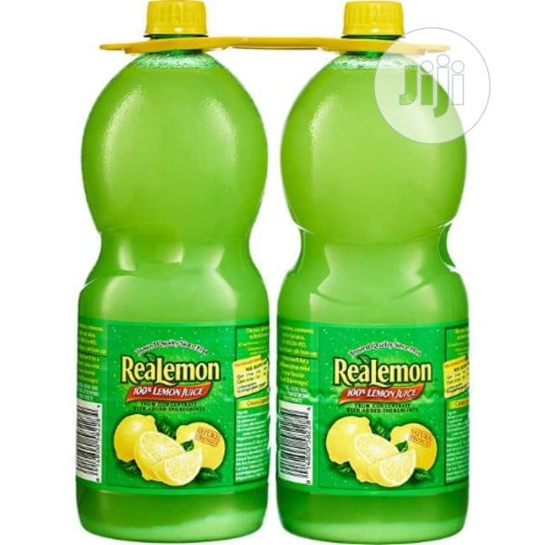 REAL Lemon Juice 2* 1.4 Litres | Meals & Drinks for sale in Ikoyi, Lagos State, Nigeria