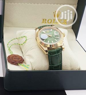 Original Leather Rolex Wrist Watch   Watches for sale in Lagos State, Lagos Island (Eko)