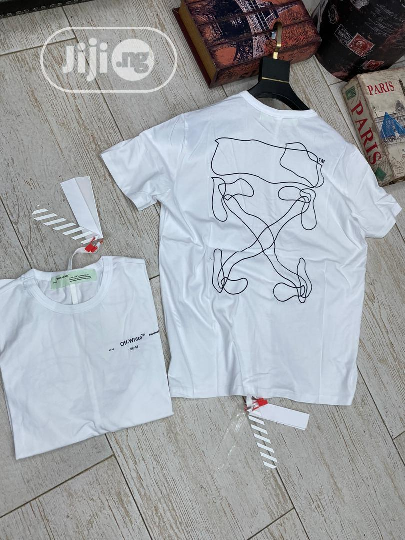 Authentic Offwhite T-Shirts | Clothing for sale in Alimosho, Lagos State, Nigeria