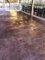 Concrete Stamps Floor For Standard | Landscaping & Gardening Services for sale in Lagos State, Lekki Phase 1