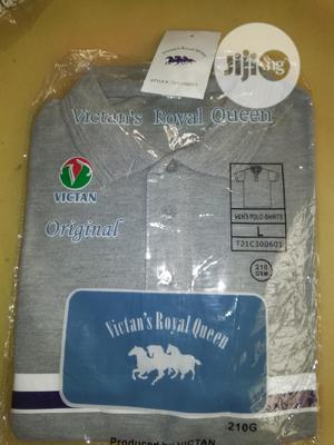 Classy Gray Polo T-Shirts Facecaps for Bulk Sales/Branding   Clothing for sale in Abuja (FCT) State, Kuje