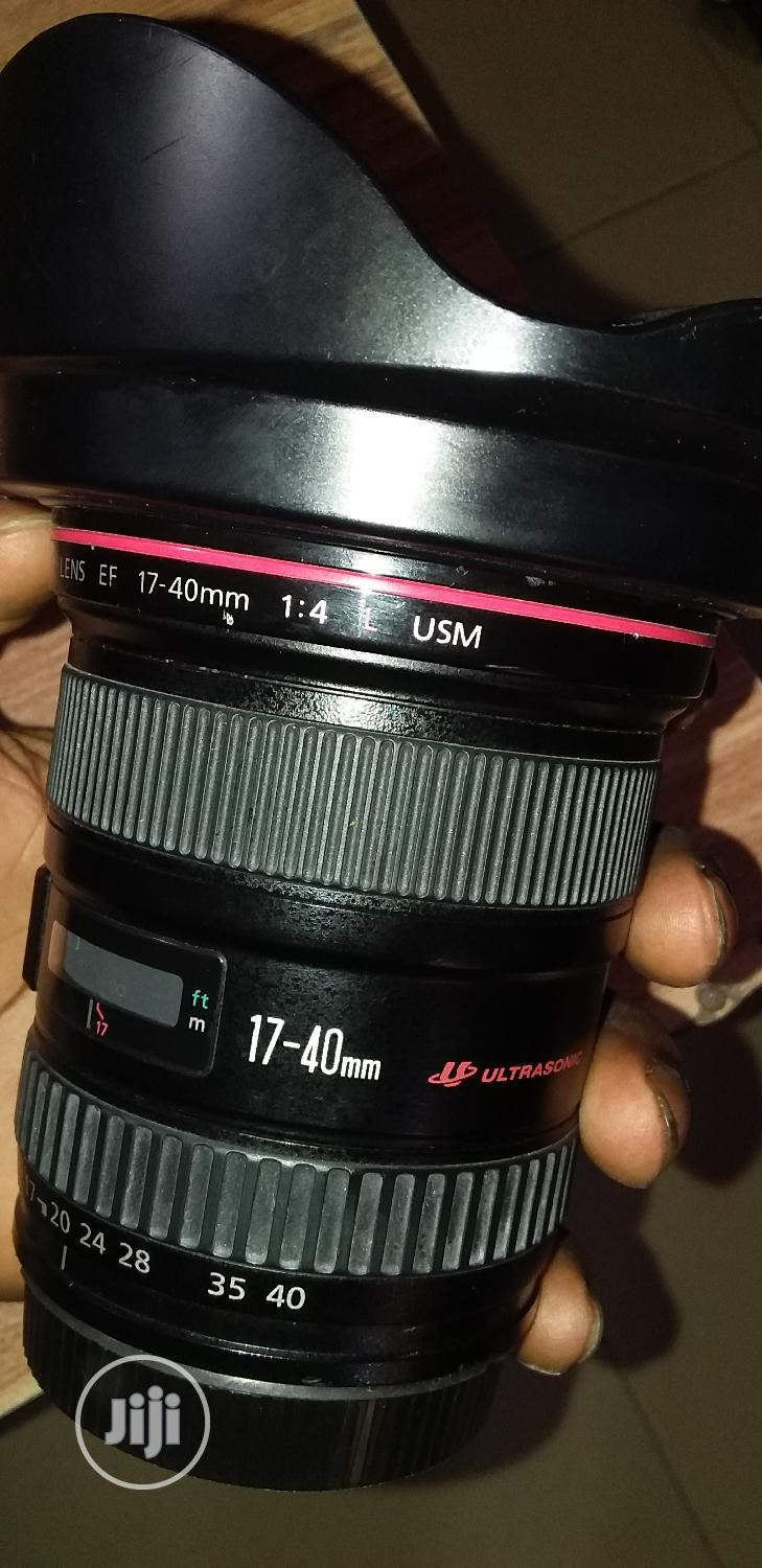 Canon 17-40mm Wide Angle Lens | Accessories & Supplies for Electronics for sale in Alimosho, Lagos State, Nigeria