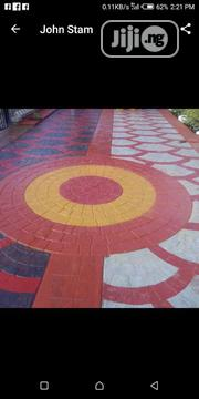 Floor Concrete Stamping Design | Building Materials for sale in Lagos State, Agboyi/Ketu