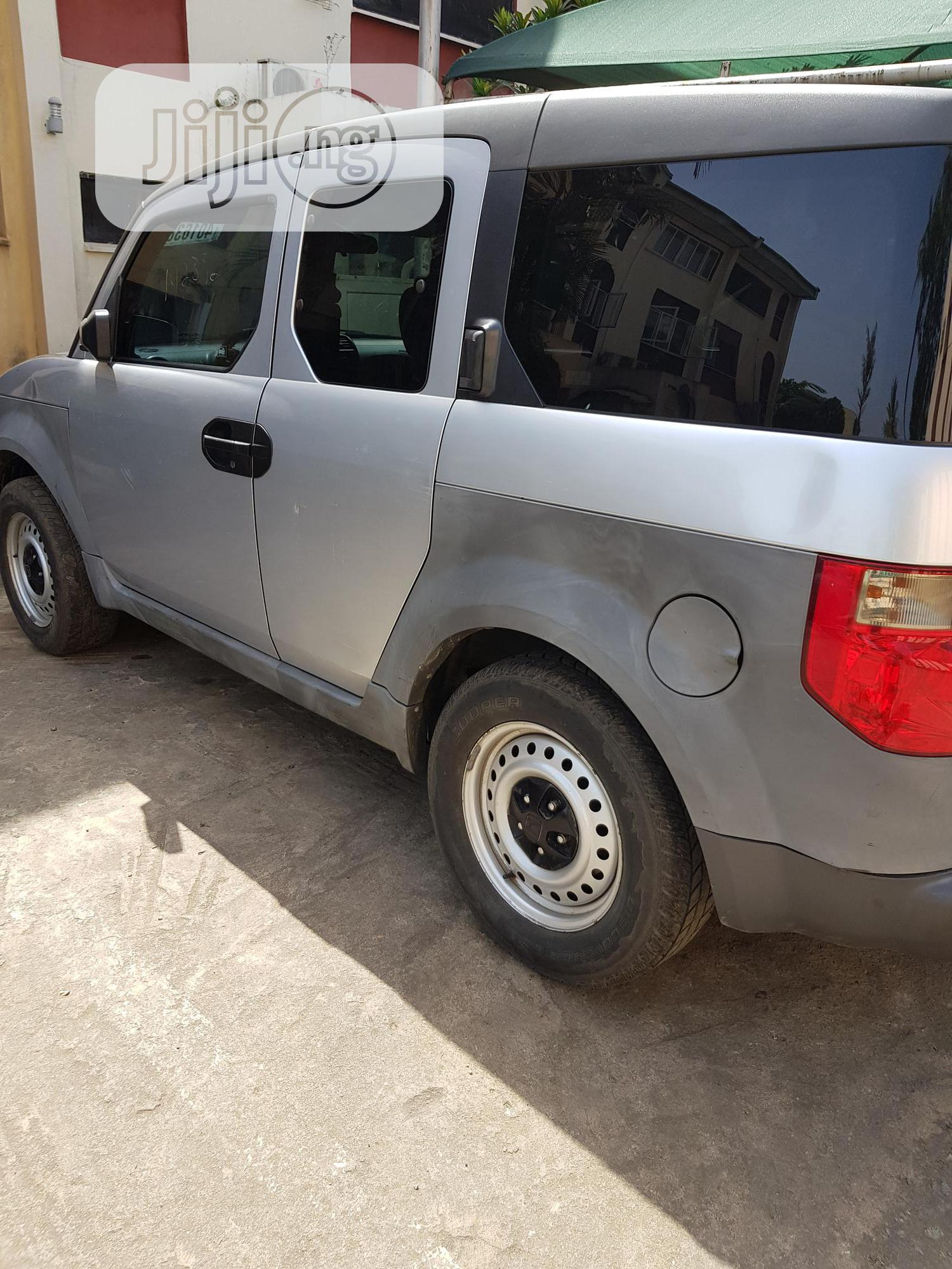 Honda Element 2004 LX Silver | Cars for sale in Katampe, Abuja (FCT) State, Nigeria
