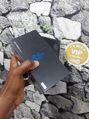 New Samsung Galaxy S8 Plus 128 GB Blue   Mobile Phones for sale in Lagos State, Ikeja