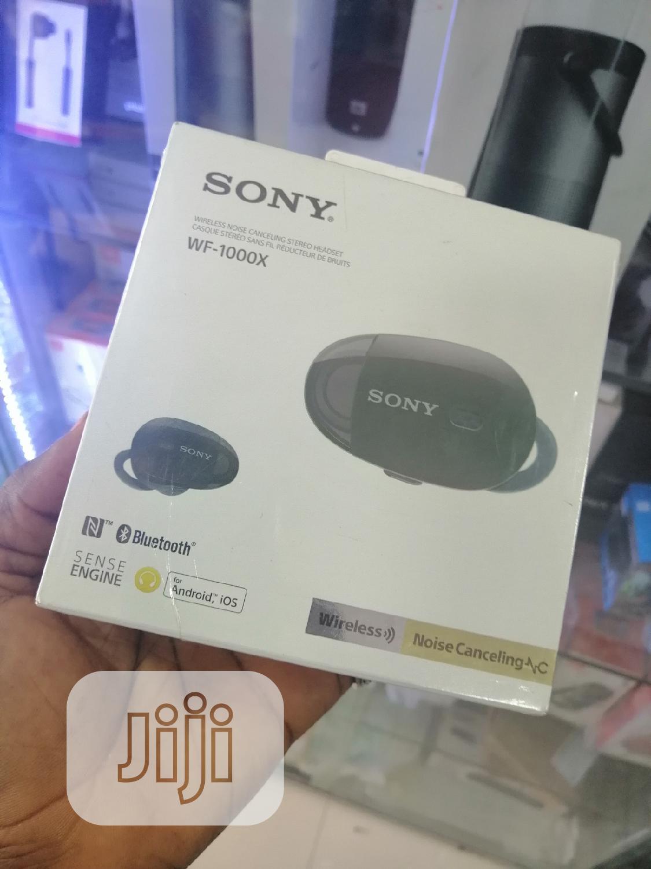 Sony Noise Free Wireless Earphone WF-1000X