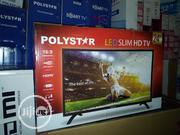 Polystar 24 Inches Slim LED Tv | TV & DVD Equipment for sale in Lagos State, Ojo
