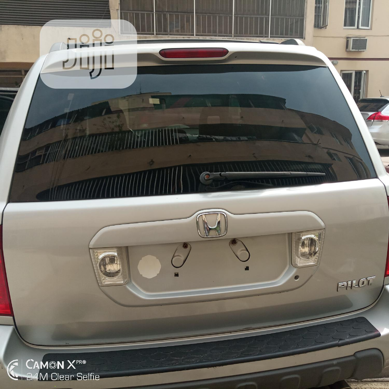 Honda Pilot 2003 LX 4x4 (3.5L 6cyl 5A) Silver | Cars for sale in Victoria Island, Lagos State, Nigeria