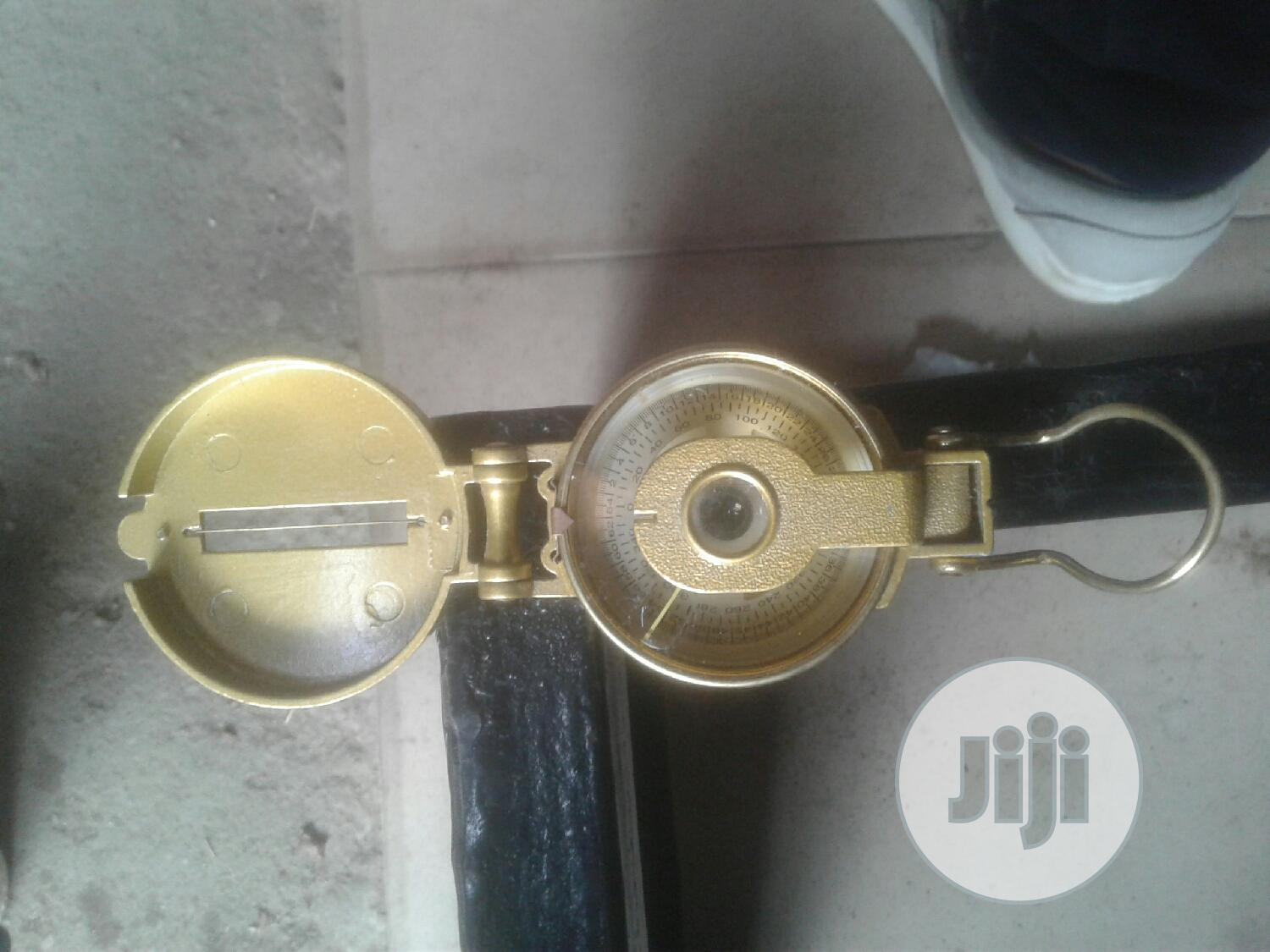 Golden Lensatic Direction Engineering Compass | Camping Gear for sale in Port-Harcourt, Rivers State, Nigeria