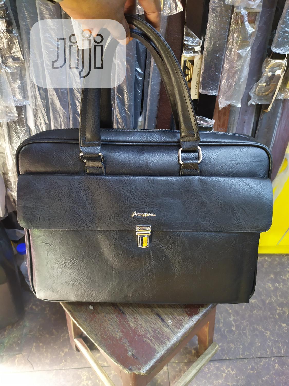 Genuine Leather Men Hanbags