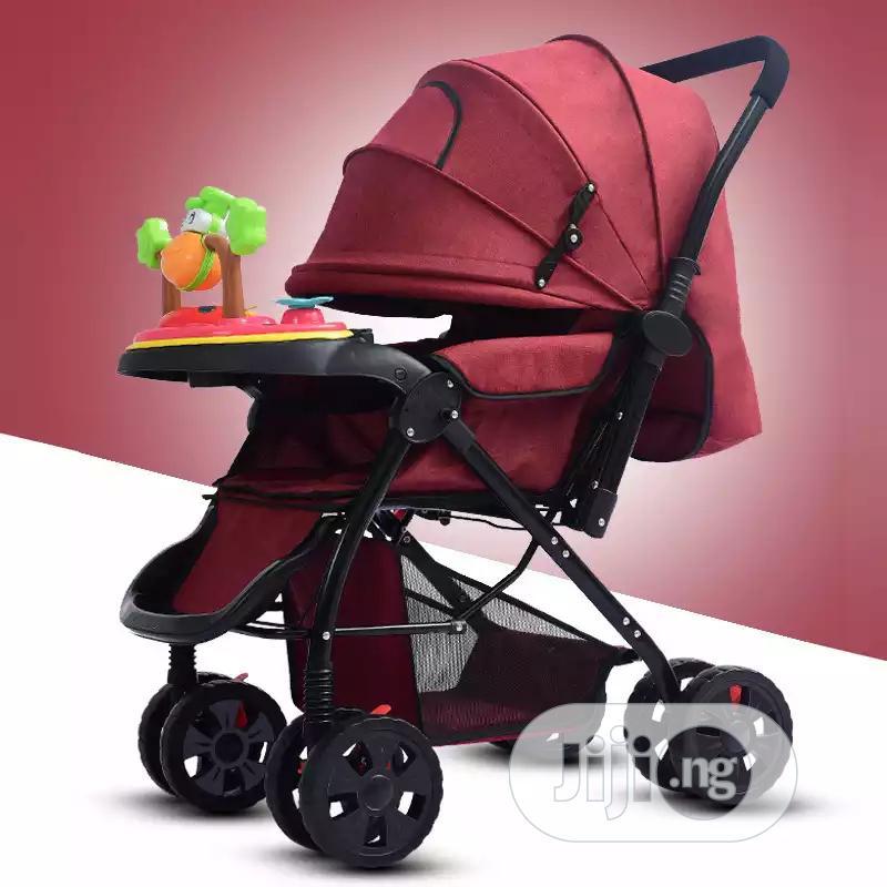 Four Wheel Baby Stroller   Prams & Strollers for sale in Alimosho, Lagos State, Nigeria