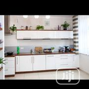 Kitchen Cabinet (White Ans Mahogany) | Furniture for sale in Lagos State, Ojo