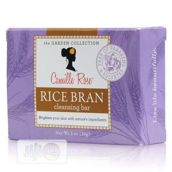 Camille Rose Rice Bran Cleansing Bar Soap 2oz