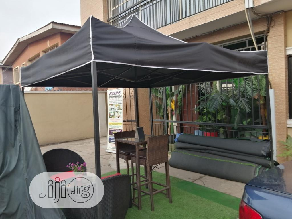 6 X 6 Ft Black Gazebo Canopy For Your Occasions And Parties