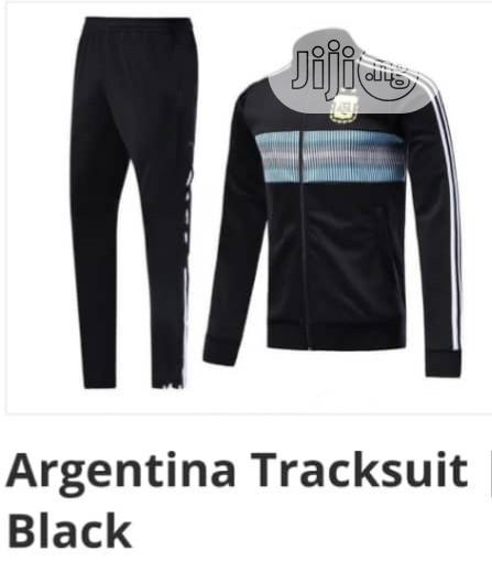 Brand New Argentina Tracksuit /Black