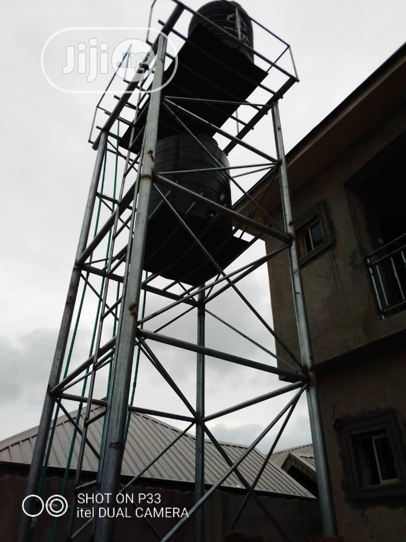 Scaffold For Water Tank And Tank Towers