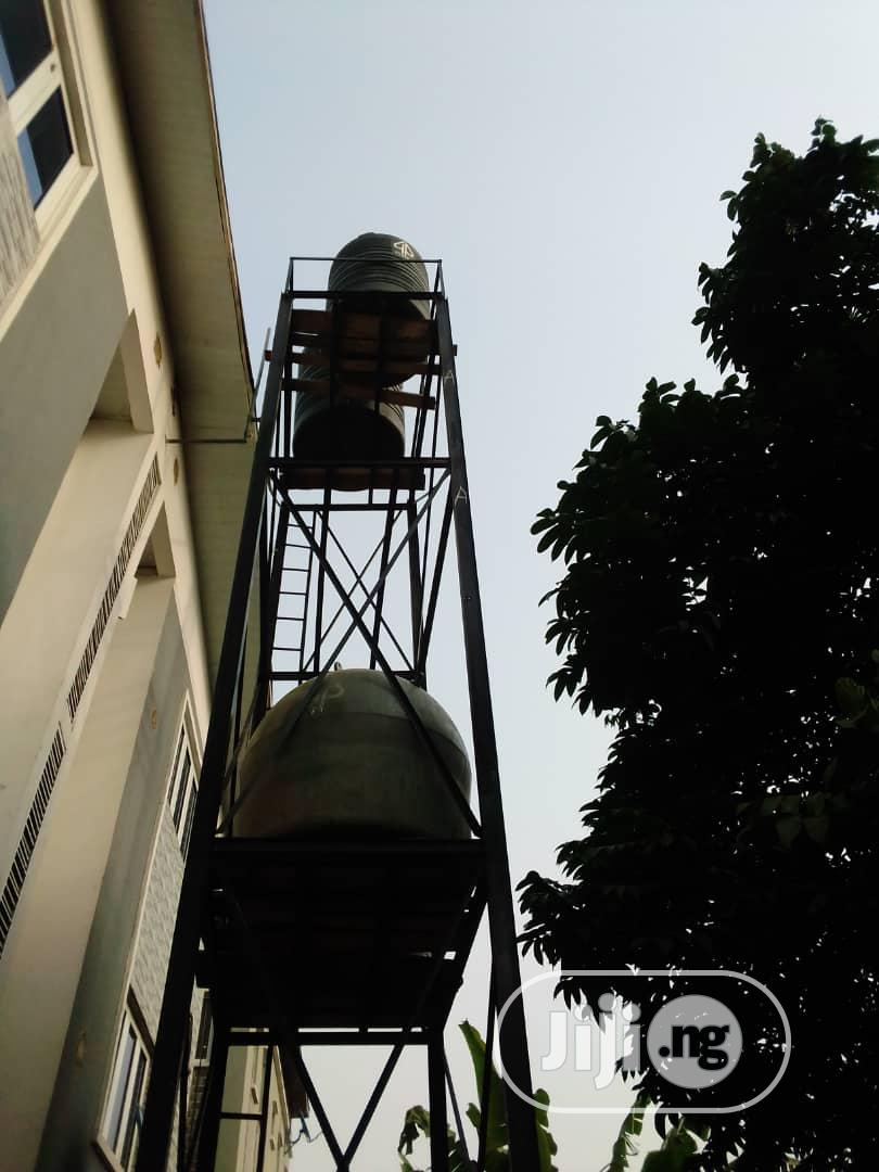 Scaffold For Water Tank And Tank Towers   Building & Trades Services for sale in Maryland, Lagos State, Nigeria