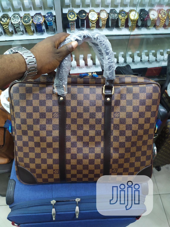 Versace, LV And Prada Designer Men Hanbags Bags Genuine Leather | Bags for sale in Lagos Island (Eko), Lagos State, Nigeria