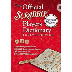 Scrabble Player Dictionary Fourth Edition Small One Hardcover   Books & Games for sale in Lagos State, Surulere