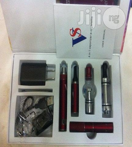 VS 4 In 1 E-cigarette Kits - Wine Red | Tobacco Accessories for sale in Lagos State, Nigeria